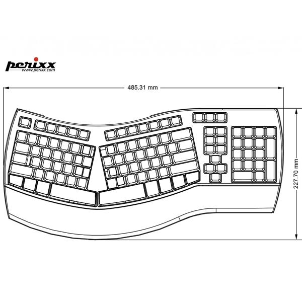 Perixx Periboard 5123